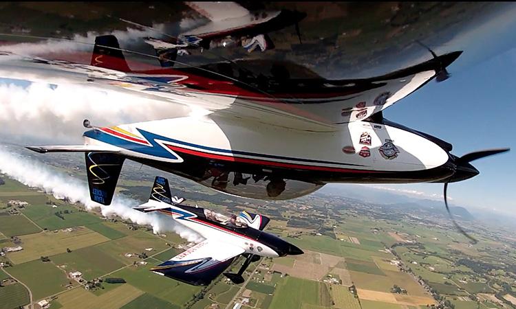 Wings Over Springbank Airshow Team Rocket