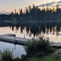 Guide: Crown Land Camping Birch Lake, Alberta