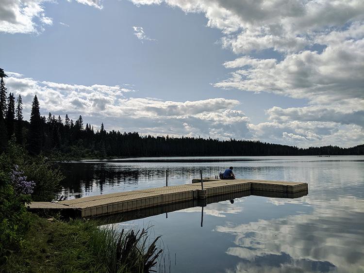 Camping Birch Lake Docks