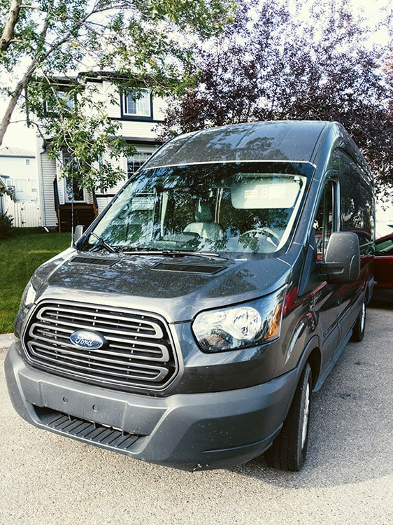 Karma Campervans front view 2019 Ford