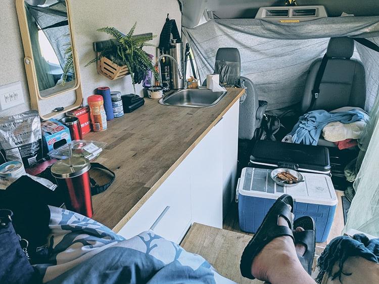 Karma Campervans inside
