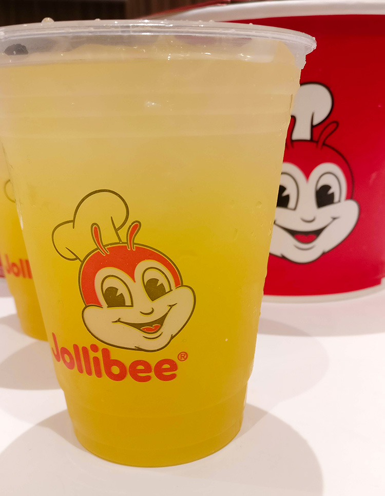 Jolibee Calgary Pineapple Refresher