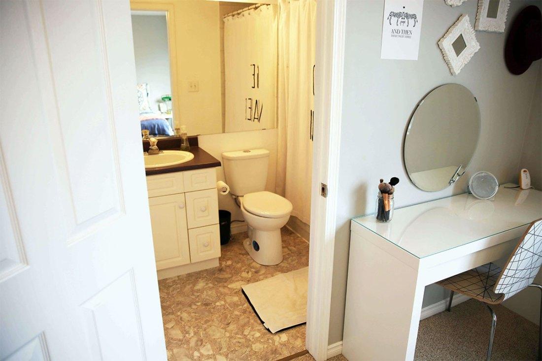 Lilac House Sherwood Park Contest bathroom