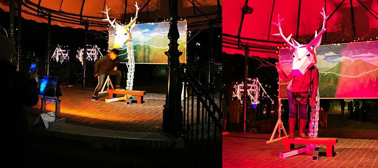 LUNA Art Festival Antlers
