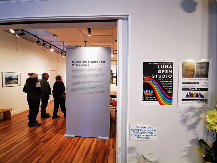 LUNA Art Festival visual arts centre open studio