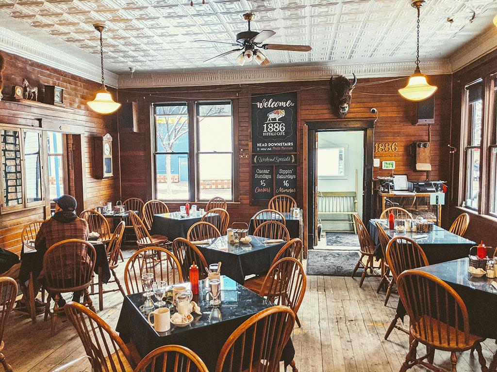 1886 Buffalo Cafe Location