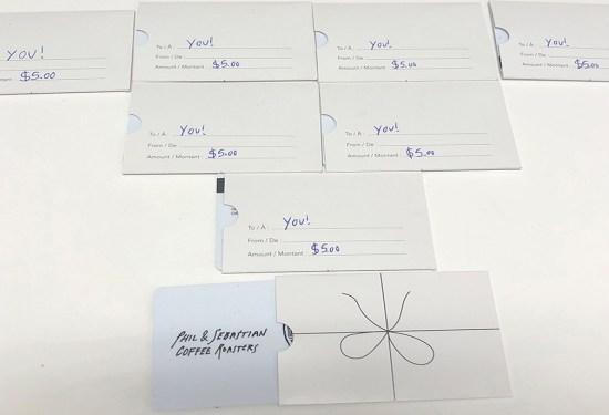 Someone Hid $5 Phil & Seb Gift Cards Around Inglewood