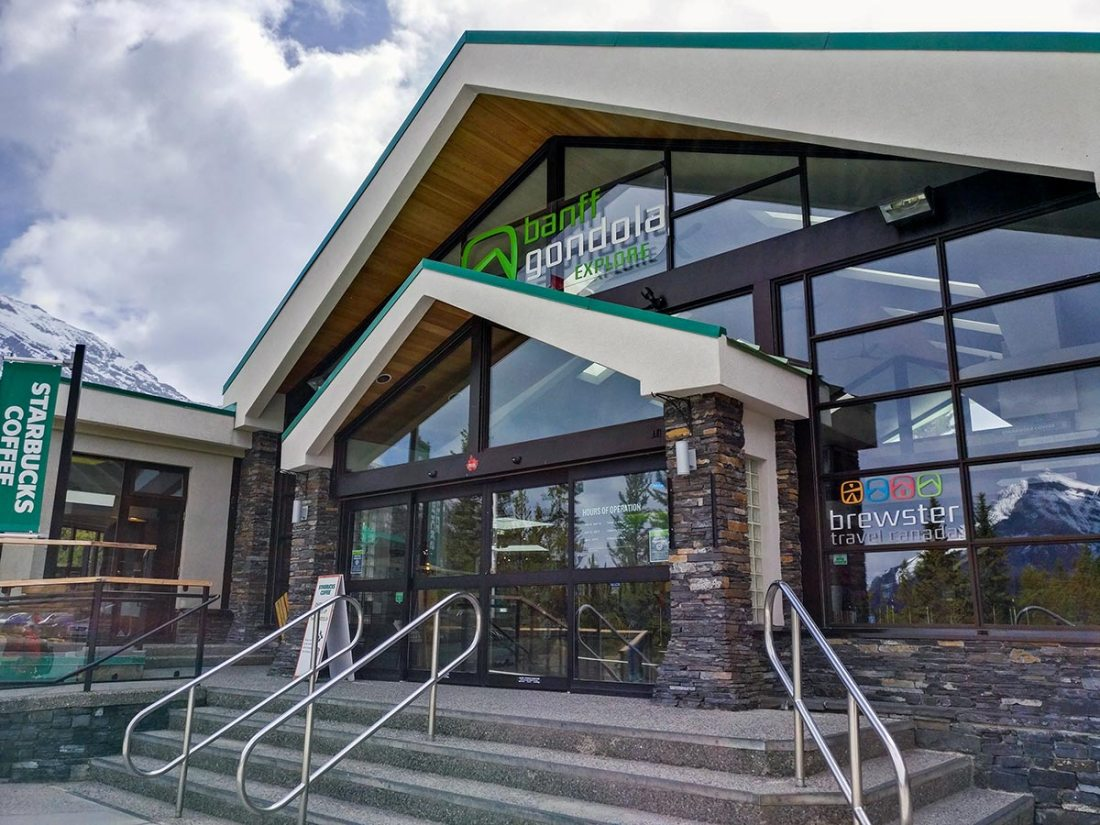 Guide To The Banff Gondola Lower Terminal Building