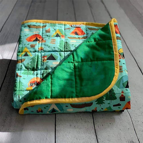 Hippo Hug Weighted Blankets can be customized to your own preference. Weight, size, fabric, pattern and so on.