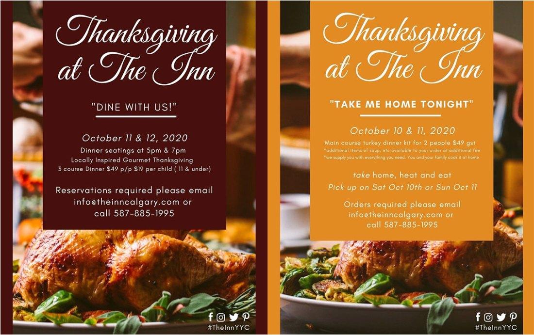 Where To Get Thanksgiving Dinner In Calgary, 2020 The Inn Calgary