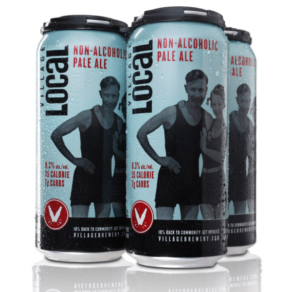Village Brewery Non-Alcoholic Pale Ale 35 calories 7g carbs