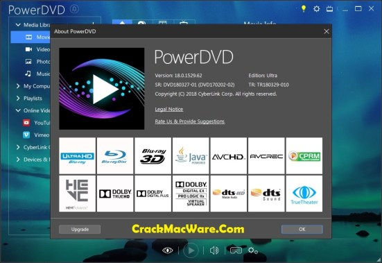 PowerDVD 18 Product Key