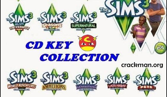 The Sims 3 full collection - Đầy đủ các expansion và pack the sims 3