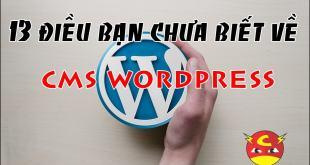 13 điều bạn chưa biết về Wordpress - Mã nguồn của những mã nguồn