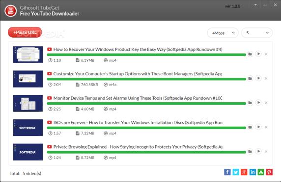 Gihosoft TubeGet 8.6.70 Crack With Keygen 2021 {Win + Mac} Download