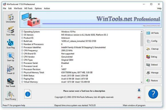 WinTools.net Professional 21.3 Crack With Serial Key Download Free 2021