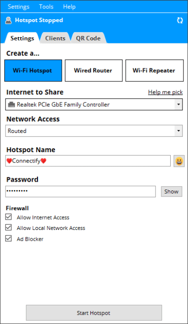 Connectify Pro 2021.0.1.40136 Crack With License Key Full Free