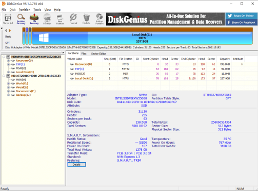 diskgenius Free downlaod 2020 version