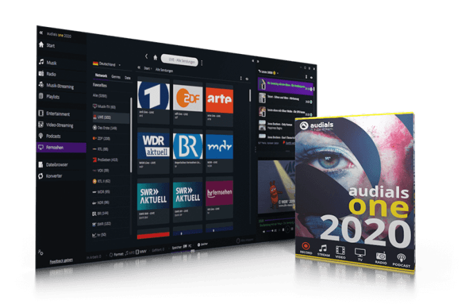 Audials One 2020 Manual