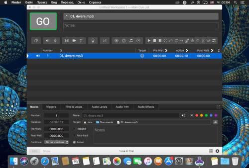 Qlab Torrent Audio Editor