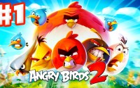 Angry Birds 2 - Gameplay Walkthrough Part 1 - Levels 1-15! 3 Stars! Feathery Hills! (iOS, Android) - YouTube