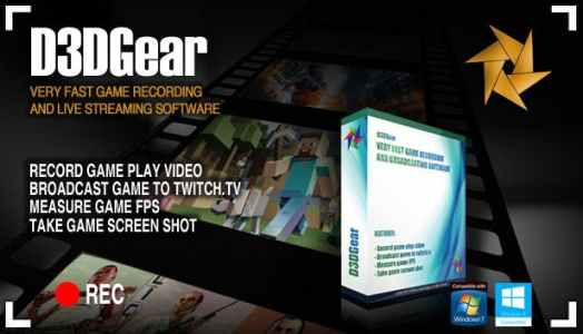 d3dgear 5.00.2243 Full version Crack Download