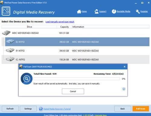 MiniTool Power Data Recovery 8.6 Crack & Keygen 2020