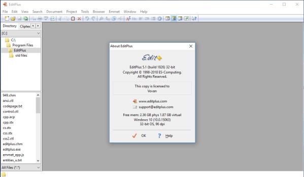 EditPlus 5.1 Crack Build 1826 With Serial Key