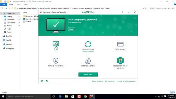 Kaspersky Internet Security 2020 Crack & License Key Full Free