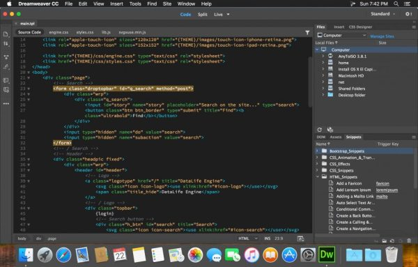 Adobe Dreamweaver CC 2018 v18.0 Free Download