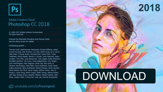 Adobe Photoshop CC 2018 v19.1.0.38906 Free