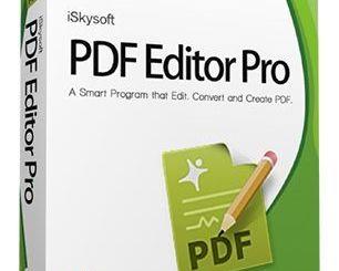 iSkysoft PDF Editor Pro 6.3.5.2806 Crack