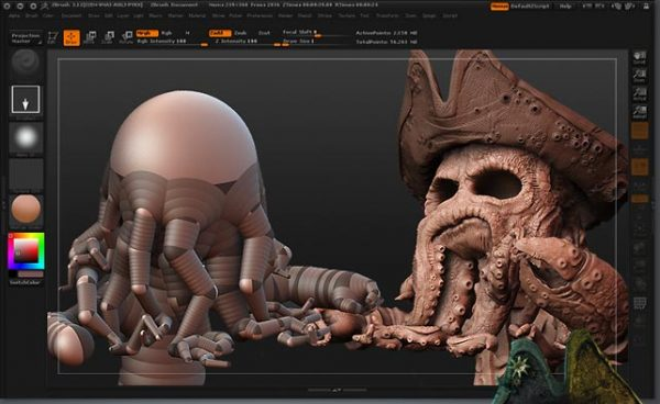 ZBrush 4R8 Full Version Screenshot 1