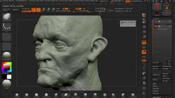 ZBrush 4R8 Full Version Screenshot 2