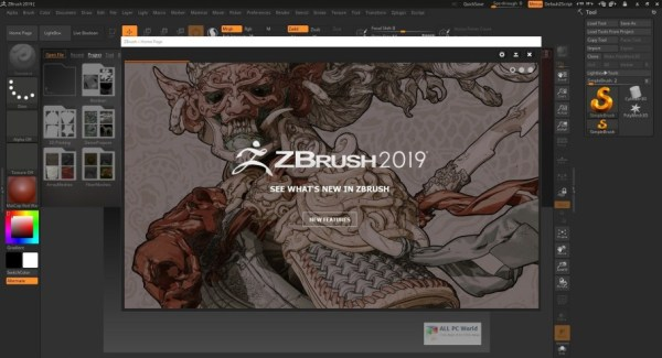 ZBrush 4R8 Full Version Cover