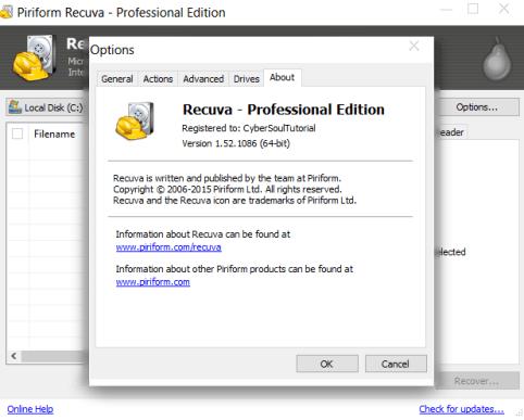 Recuva Pro 1.53 License Screenshot 1