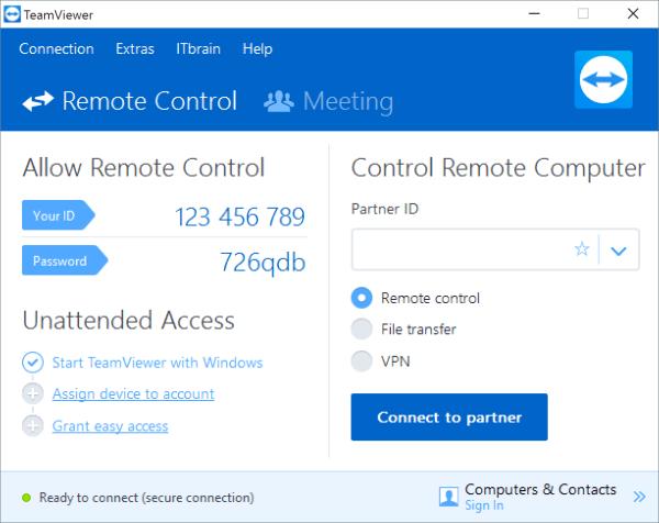 TeamViewer 15.8.3 Crack Full License Key Free Download