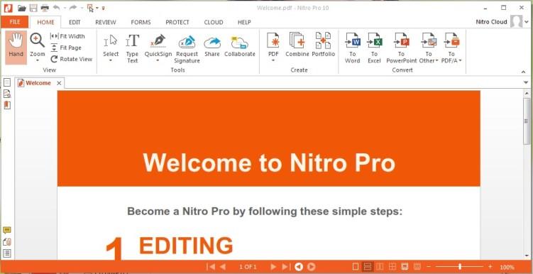 Nitro Pro Enterprise 13.13.2.242 With Crack Latest Full