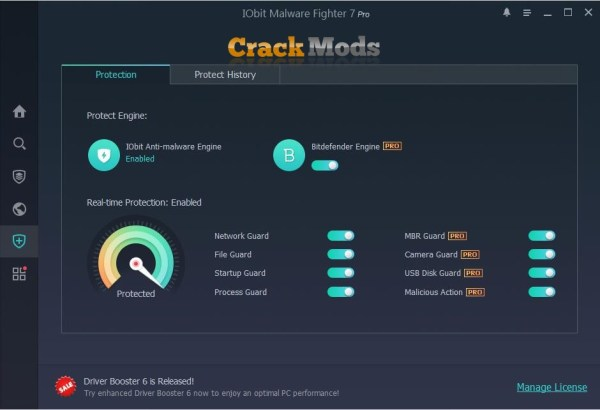 IObit Malware Fighter Pro 7.7.0.5872 With Crack Full Download