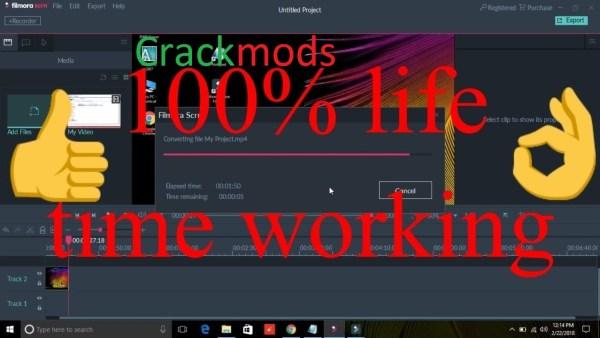 Filmora Scrn 2.0.1 Crack + Registration Code Free Download 2021