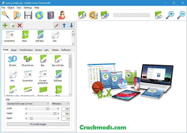 Insofta Cover Commander 6.8.0 Crack With [Latest] 2021 Download