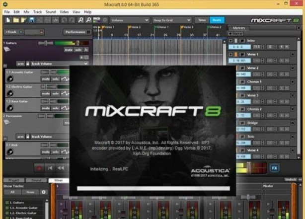 Acoustica Mixcraft 8.1 Crack With Registration Code Free Download