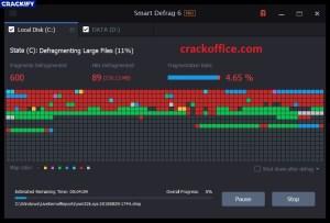 IObit Smart Defrag Pro Crack