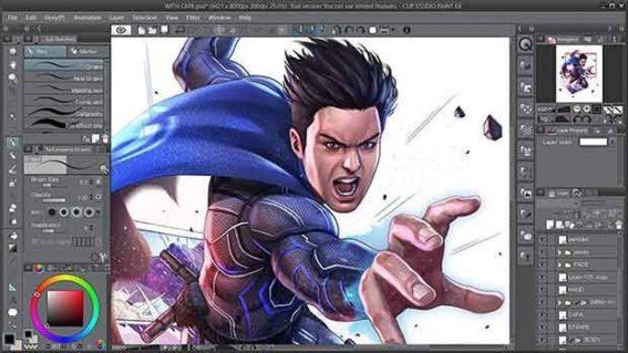Clip Studio Paint 1.10.2 Crack Free Download