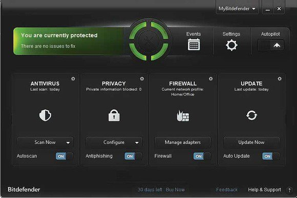 Bitdefender Total Security Crack 2019 with Serial Key
