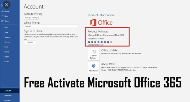 Microsoft Office 365 Product Key  + Cracked [Updated List 2020]