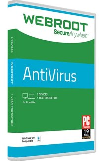 Webriresoot SecureAnywher Antivires