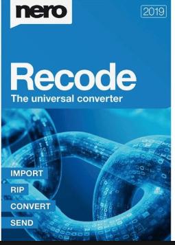 Nero Recode 2021 Crack & Serial Number Free Letest Download
