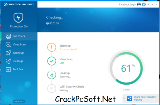 360 Total Security Crack Premium & License Key Download