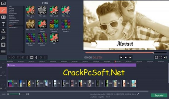 Movavi Video Editor 14 Activation Key with Crack Download